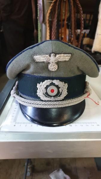 Orginal 3.Reich Arztmütze Offizier