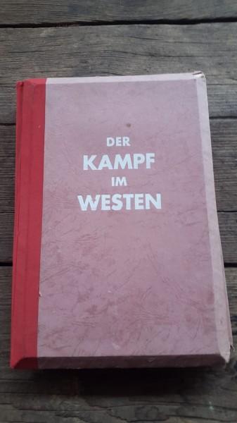 Der Kampf im Westen rot