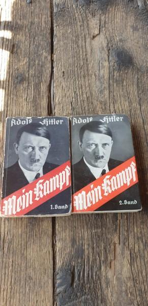 Mein Kampf in 2 Bänden Taschenbuchformat Top Zustand