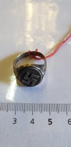 Orginal Silberring 3.Reich