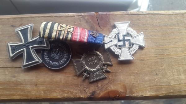 Verdienstspange 1 und 2.Weltkrieg