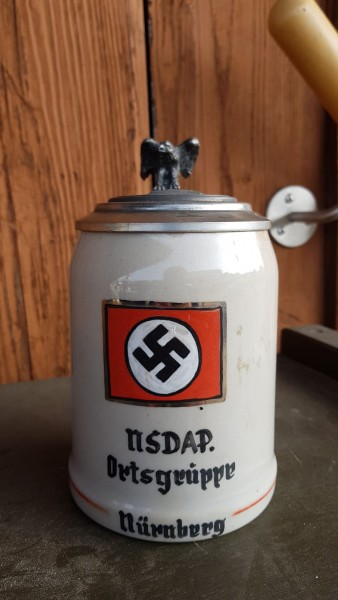Bierkrug NSDAP - Ortsgruppe Nürnberg