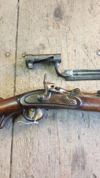 Wenzel Gewehr mit Bajonett K&K Top Zustand