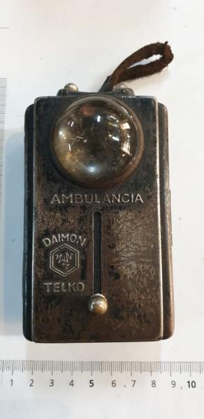 Taschlampe Italien 2.Wk