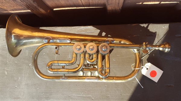 Schweizer Armee Trompete