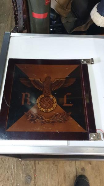 Orginal Autostandarte NSDAP des Reichsleiter 3.Reich