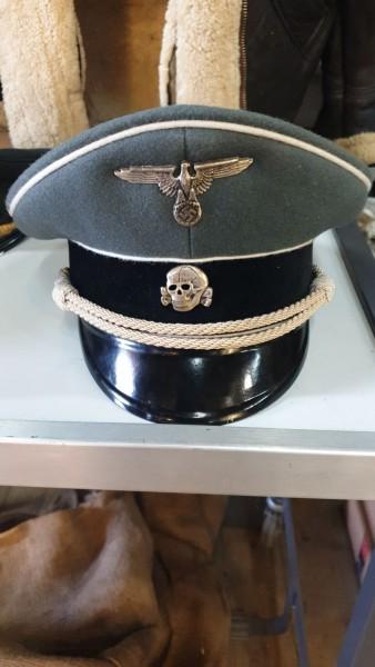 Sammleranfertigung SS-Offiziersmütze