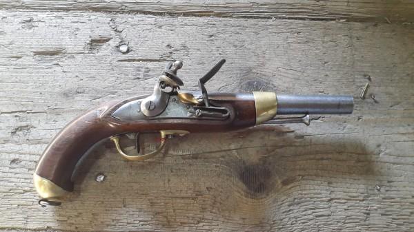 Steinschlosspistole CH Modell 1822