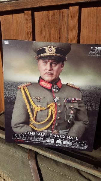 Puppe Generalfeldmarschal Wilhelm Keitel mit Original Schachtel -