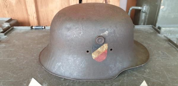 Orginal Kinderhelm 3.Reich arschselten