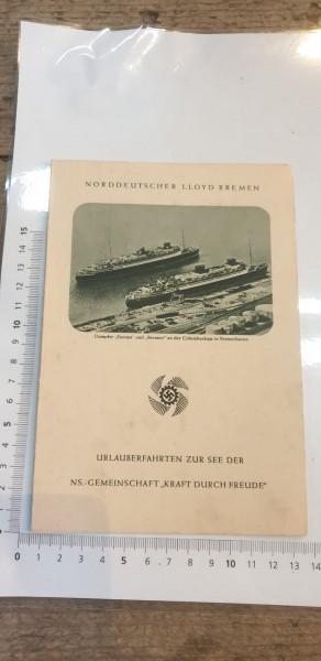 """Urlauberfahrten zur See der NS """"KRAFT DURCH FREUDE"""""""