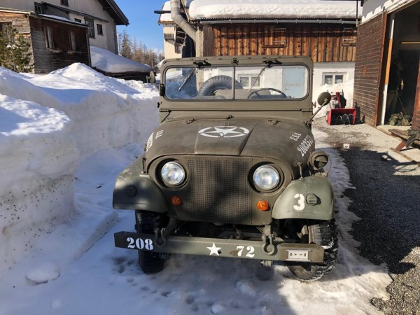 Willys-Jeep M38 A1 CH-Armee