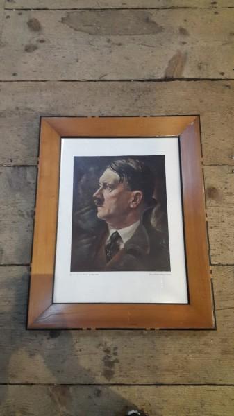 Bild vom Führer Adolf Hitler