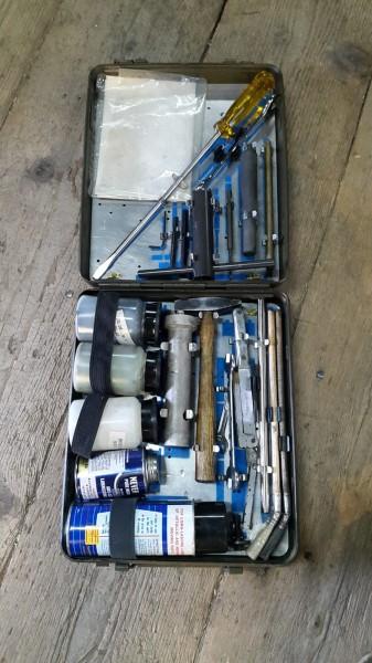 Werkzeug zu Kanonen Montage und demontage
