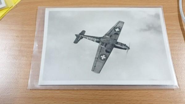 Postkarte CH-Luftwaffe ME 109
