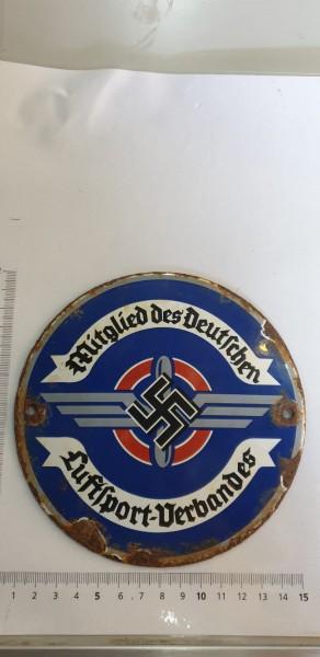 Emailschild Mitglied des deutschen Luftsport-Verbandes