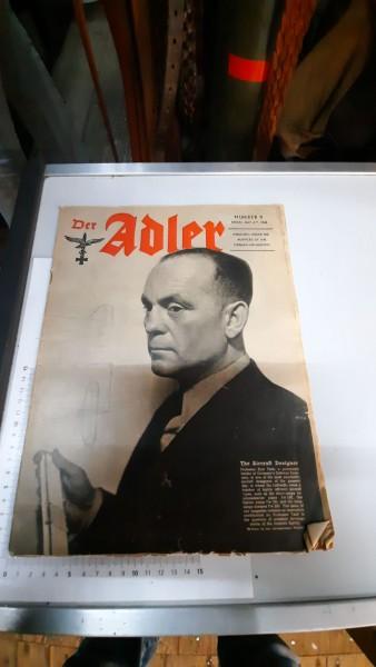 Heft Der Adler 4.Mai 1943 Englisch