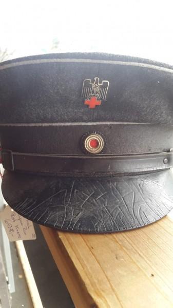 Orginal Rotkreuz Mütze Mannschaft