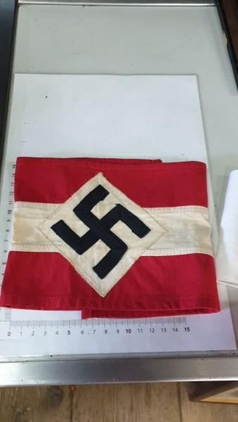 Orginal HJ Hitlerjugend Armbinde für Mantel