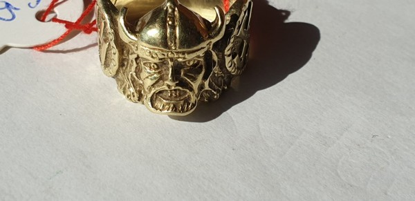 SS Wiking Ring Sammleranfertigung in 14K Gold