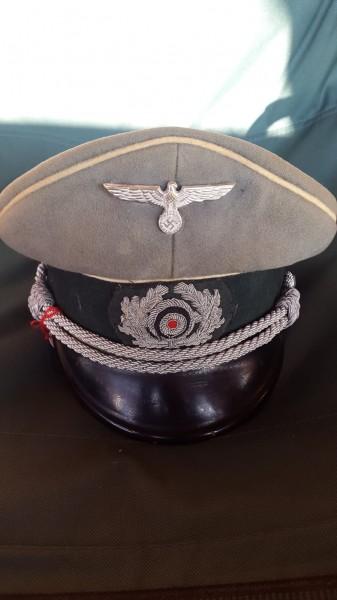 Orginal Wehrmachts Infanterie Offiziersmütze