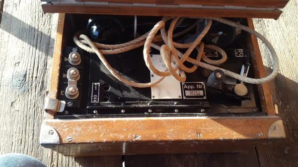 Schweizer Feldtelefon Modell 47
