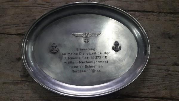 Orginal Marine Errinnerungstafel