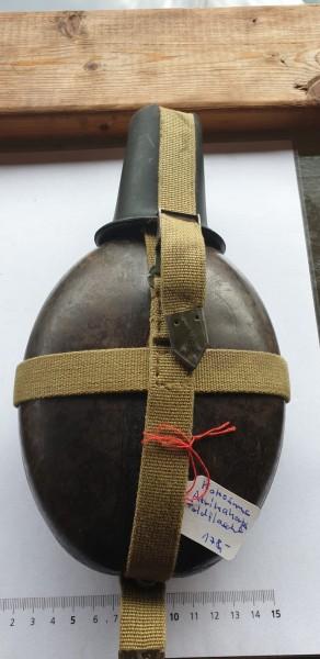 Kokusnuss Afrikacorps Feldflasche