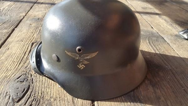Orginal Luftwaffenhelm neuwertig kaum getragen