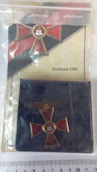 Orden Sammleranfertigung Russland 1782