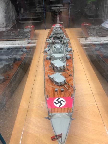 Modell Schlachtschiff Bismark 130cm