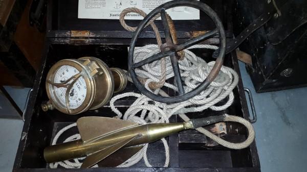 Japanische Marine Knotenmessgerät