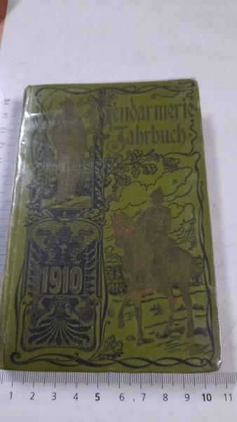 4 Gendarmerie Jahrbuch Österreich Kaiserlich 1910,1911,1913,1914