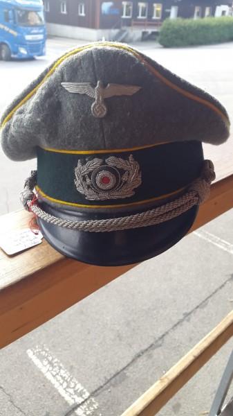 Orginal Wehrmachtsoffiziersmütze Kavallerie Aufklärer