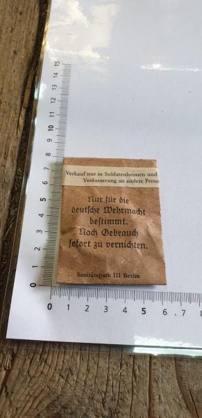 Wehrmachtskondome orginal 3.Reich