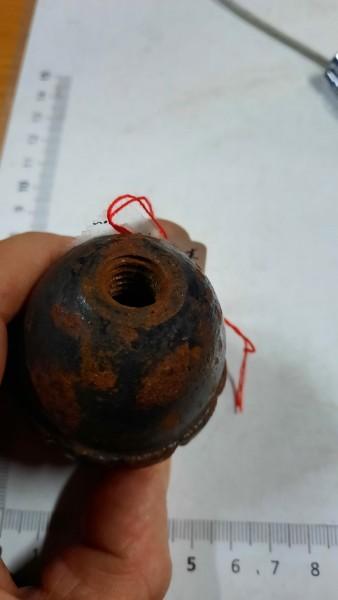 Handgranate 1.Wk ohne Zünder