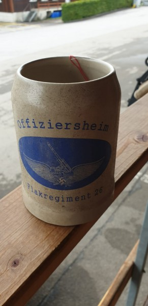 Bierkrug Offiziersheim Flakregiment