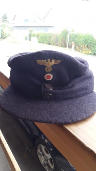 Mütze Marine oder Post