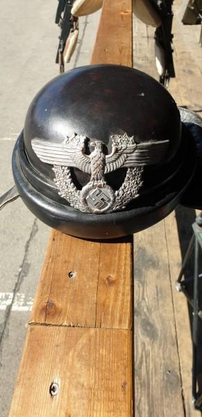 Polizei Motorradfahrerhelm 3.Reich