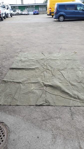 Anhängerblache CH-Armee neuwertig 2,80 x 1,68m