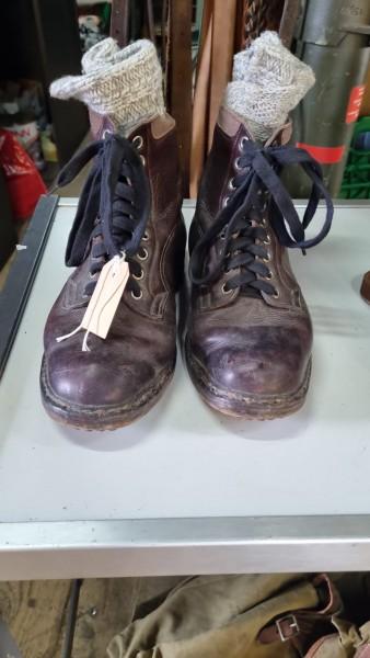 Orginal Gebirsjäger Schuhe Wehrmacht Top Zustand mit Socken