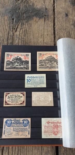 Notbank Noten Austria / Österreich