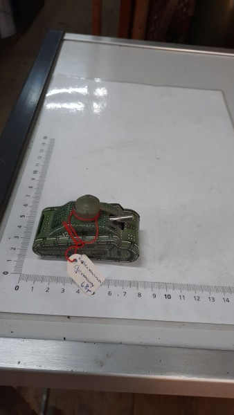Blechpanzer Kellermann ohne Schlüssel