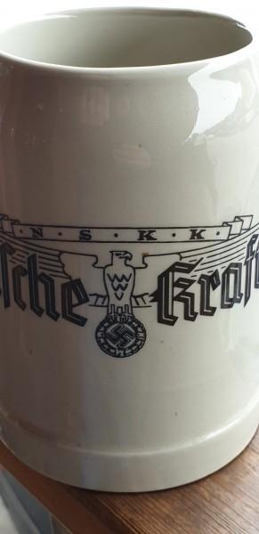 Bierkrug NSKK Deutsche Kraftfahrt