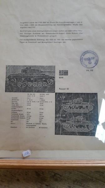 Bild / Beschreibung Panzer 3.