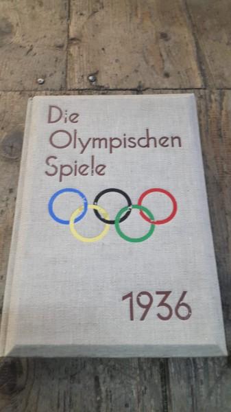 Die Olypischen Spiele 1936 (mit Taschensteroskop) Neuwertig