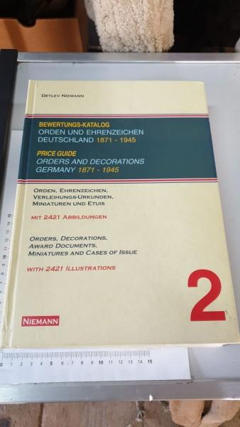 Bewertungskatalog für Orden und Ehrenzeichen 1871-1945