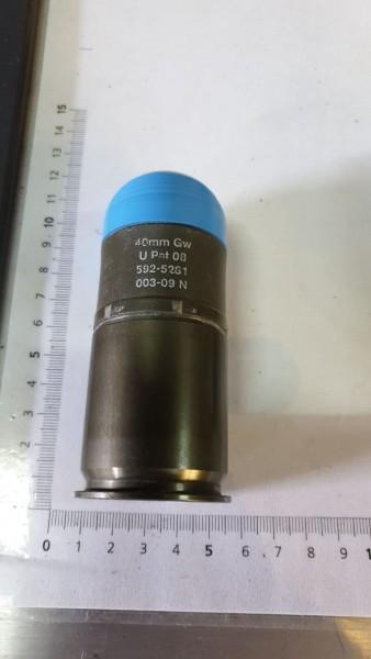 Manipulier Gewehrpatrone 40mm U Pat 08 Inerte