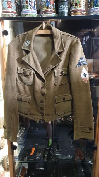 Orginal Hitlerjugend (BND) Uniform Hose Jacke Tasche HJ