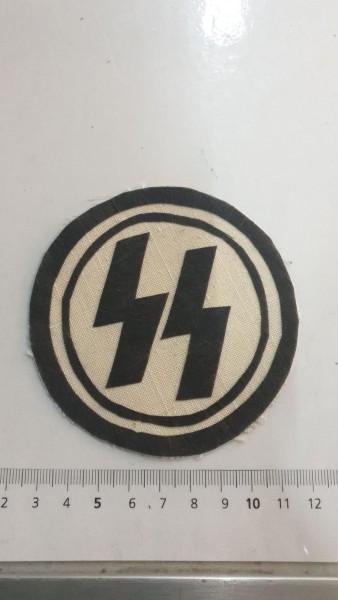 Orginal SS Stoffabzeichen für Turnerleibchen gestempelt